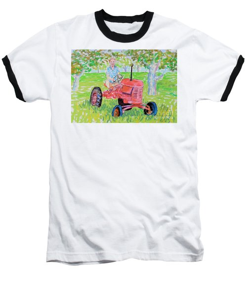 Apple Tree Farmer Sean Smith Baseball T-Shirt