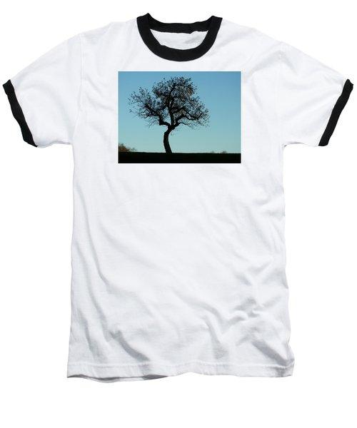 Apple Tree In November Baseball T-Shirt by Ernst Dittmar