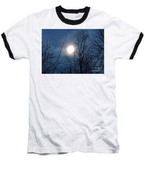 April Moonlight Baseball T-Shirt