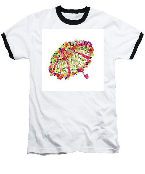 April Showers Bring May Flowers Baseball T-Shirt