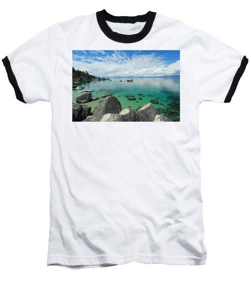 Aqua Heaven Baseball T-Shirt