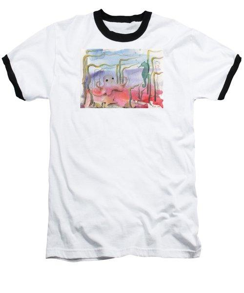 Aquatic Bliss Baseball T-Shirt