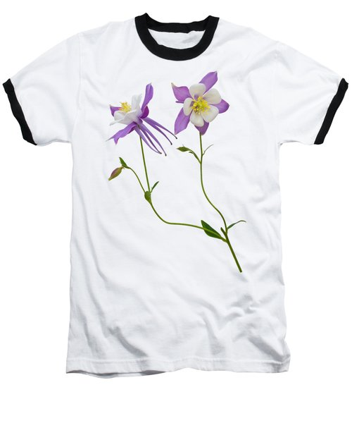 Baseball T-Shirt featuring the photograph Aquilegia Specimen by Jane McIlroy