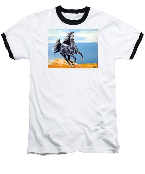 Arabian Dreams Baseball T-Shirt by Cheryl Poland