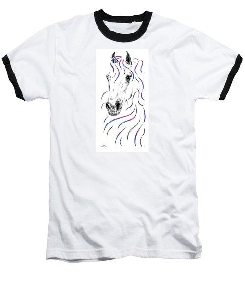 Arabian Horse Style Baseball T-Shirt