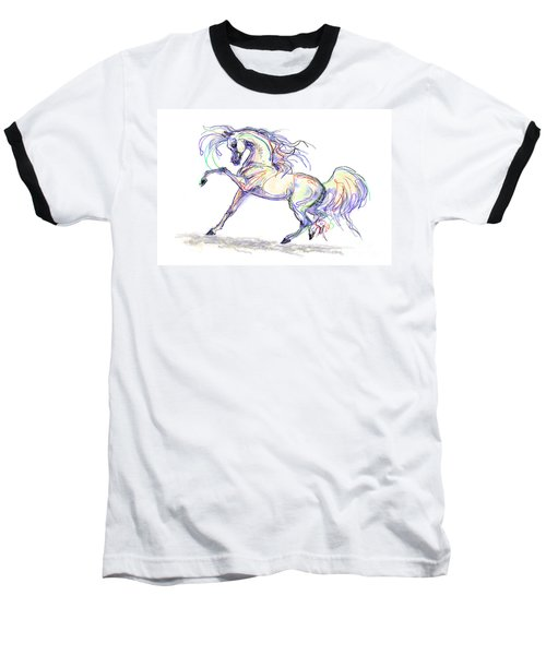 Arabian Stallion Talk Baseball T-Shirt
