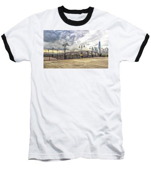 Arc To Freedom One Tower Image Art Baseball T-Shirt