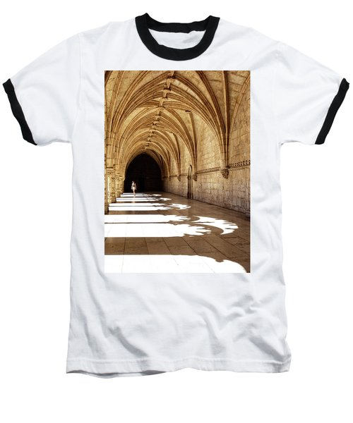 Arches Of Jeronimos Baseball T-Shirt by Marion McCristall