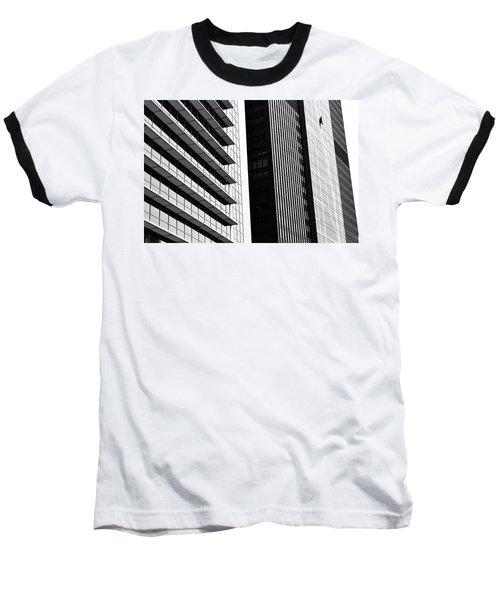 Architectural Pattern Study 3.0 Baseball T-Shirt