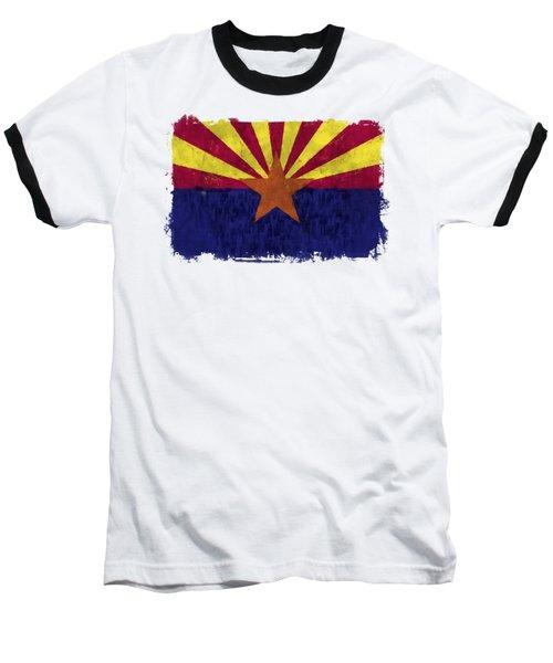 Arizona Flag Baseball T-Shirt