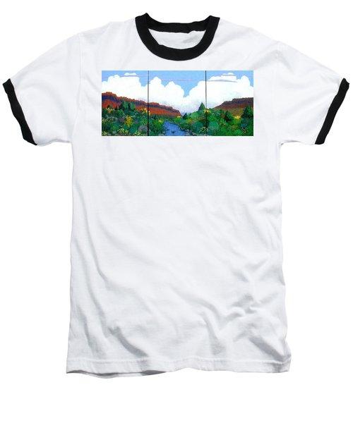 Arizona Sky Baseball T-Shirt by Bernard Goodman