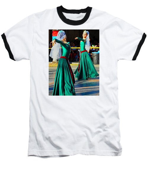 Armenian Dancers 9 Baseball T-Shirt