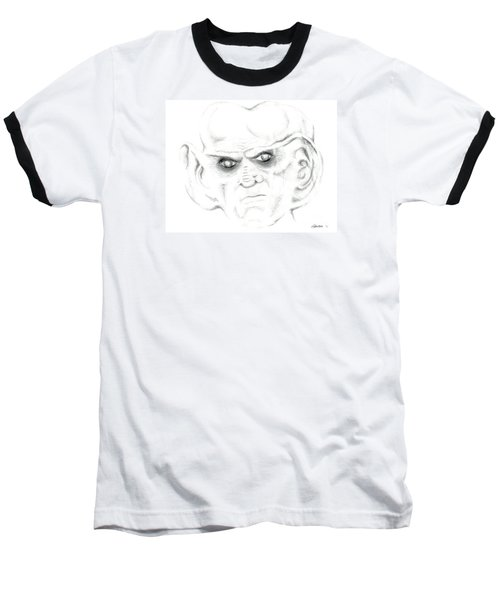 Baseball T-Shirt featuring the drawing Armin by Kim Sy Ok