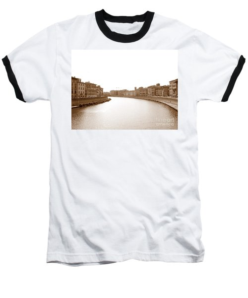 Arno River In Pisa Baseball T-Shirt