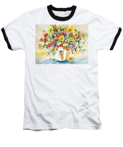 Arrangement IIi Baseball T-Shirt by Alexandra Maria Ethlyn Cheshire