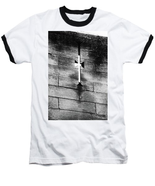 Arrow Slit Baseball T-Shirt