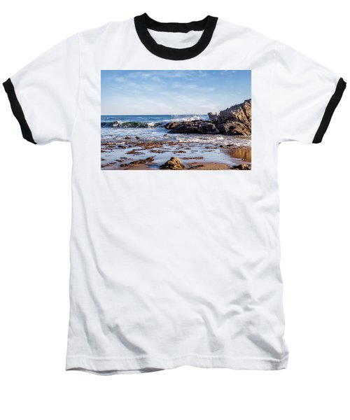 Arroyo Sequit Creek Surf Riders Baseball T-Shirt