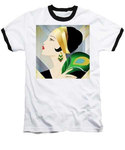 Roaring 20s Flapper Baseball T-Shirt