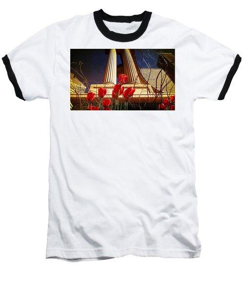 Art In The City Baseball T-Shirt
