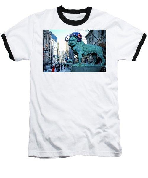 Art Institute Of Chicago Lions Baseball T-Shirt