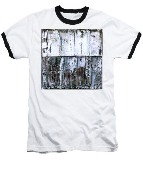 Art Print Abstract 45 Baseball T-Shirt
