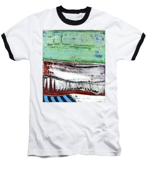 Art Print Abstract 97 Baseball T-Shirt