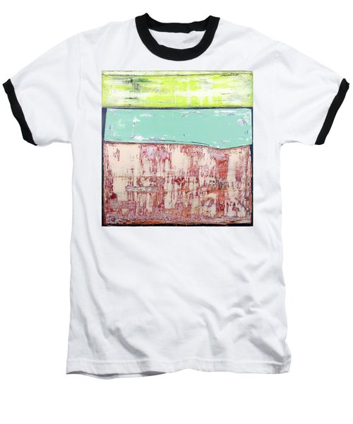 Art Print Abstract 19 Baseball T-Shirt