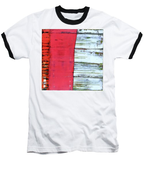 Art Print Abstract 75 Baseball T-Shirt