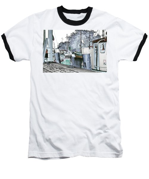 Art Print Boat 2 Baseball T-Shirt