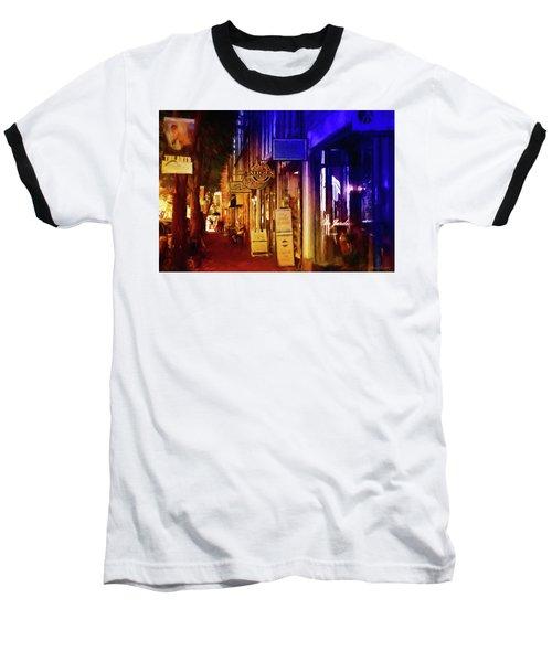 Art Row - Fredericksburg, Virginia Baseball T-Shirt