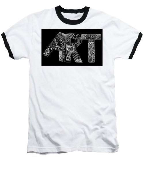 Art Within Art Baseball T-Shirt