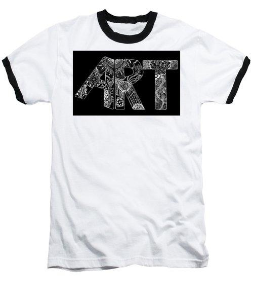 Art Within Art Baseball T-Shirt