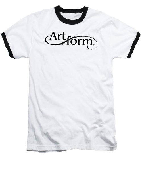 Baseball T-Shirt featuring the drawing Artform by Arthur Fix