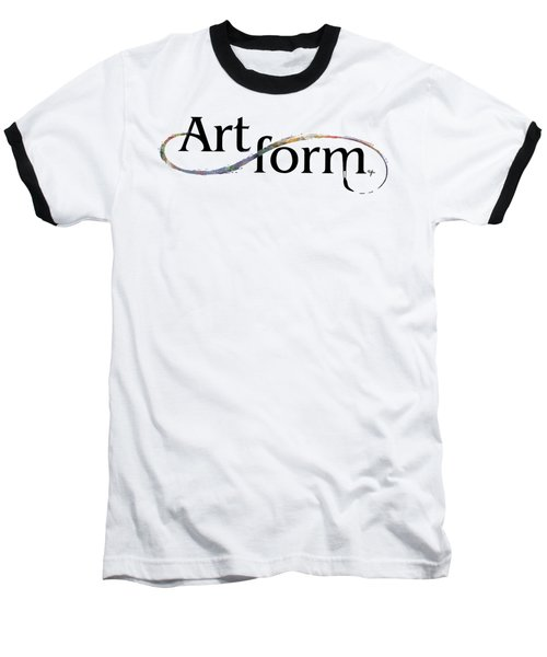 Baseball T-Shirt featuring the drawing Artform02 by Arthur Fix