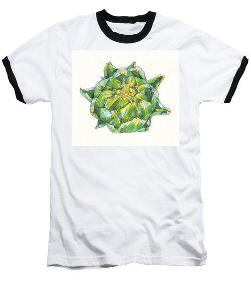 Artichoke Star Baseball T-Shirt