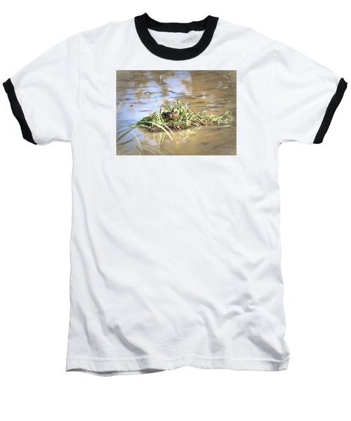 Artistic Lifeguard Baseball T-Shirt