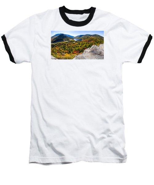 Artists Bluff, Franconia Notch Baseball T-Shirt