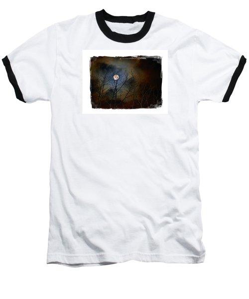Artsy Moon Baseball T-Shirt