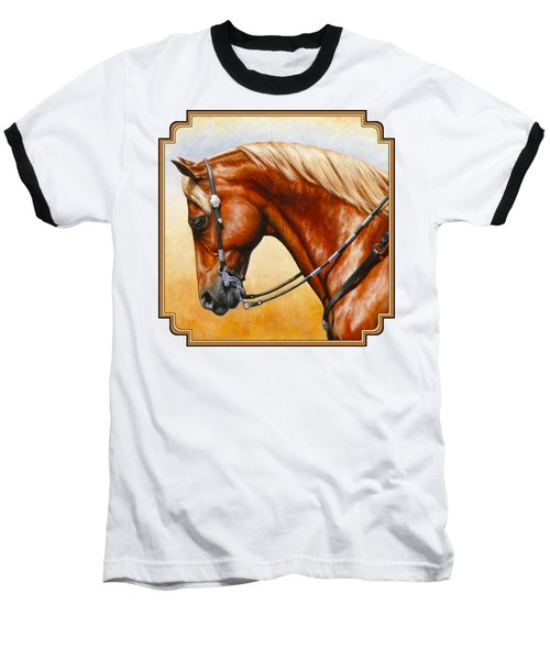 Precision - Horse Painting Baseball T-Shirt