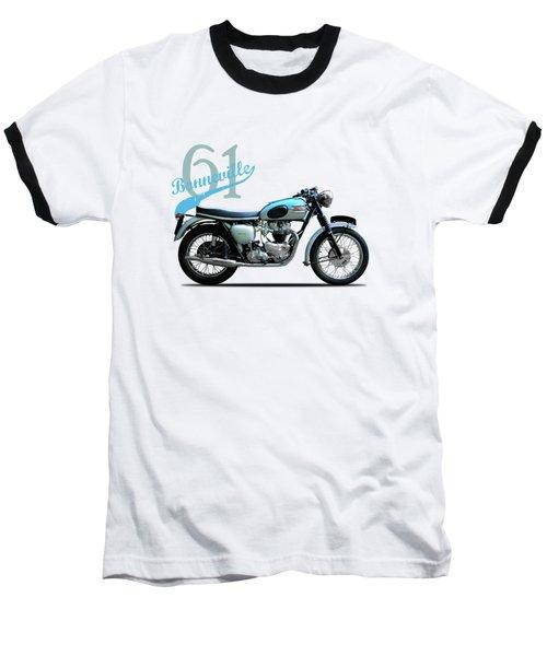 Triumph Bonneville Baseball T-Shirt by Mark Rogan