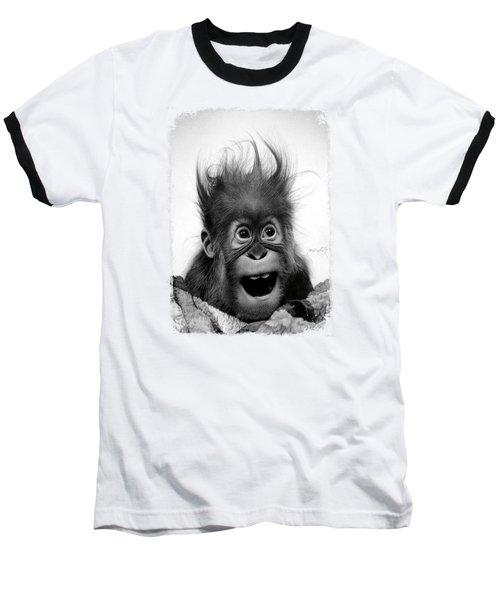 Don't Panic Baseball T-Shirt