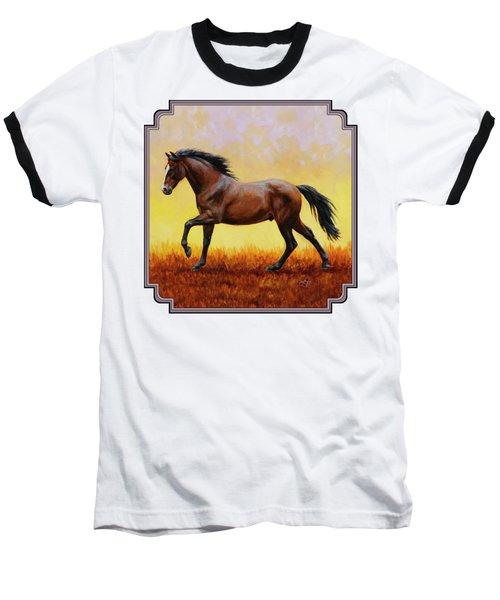 Midnight Sun Baseball T-Shirt