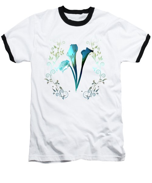 Dragonfly Dream Baseball T-Shirt by Regina Femrite