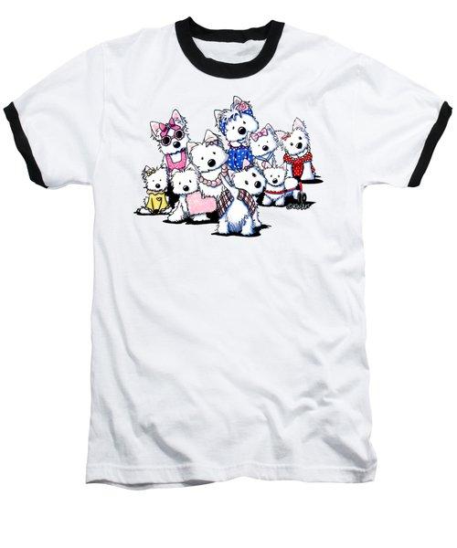 International Westie Women Baseball T-Shirt