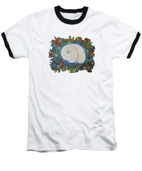 Moonsnail Lace Baseball T-Shirt