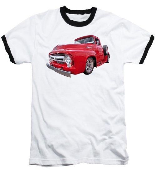 Red F-100 Baseball T-Shirt