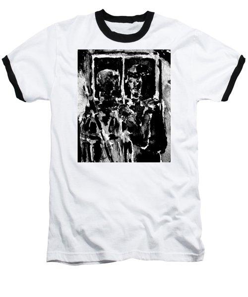 I Am The Way Baseball T-Shirt by Alfred Motzer