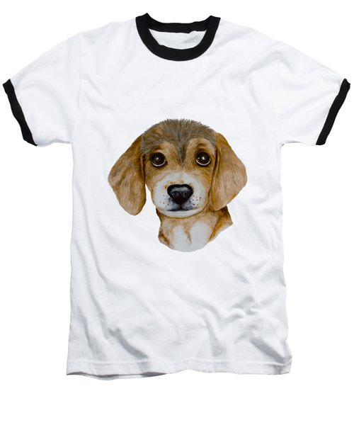 Beagle Puppy Baseball T-Shirt