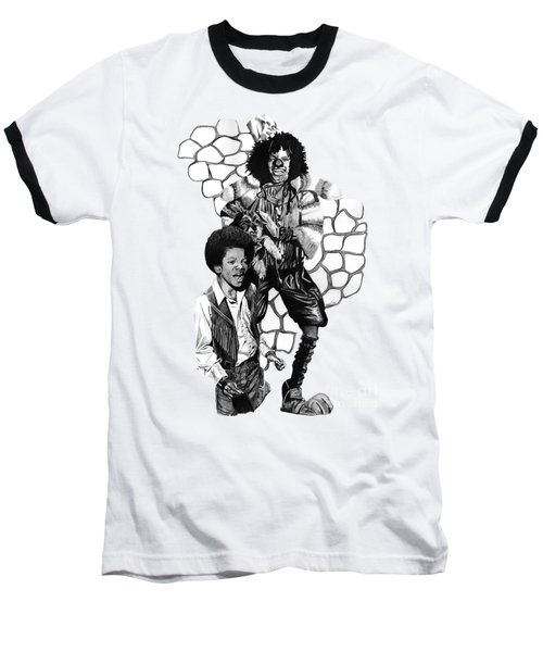 Michael Baseball T-Shirt by Terri Meredith