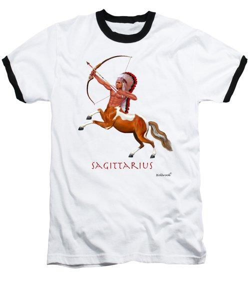 Native American Sagittarius Baseball T-Shirt